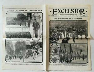 N945-La-Une-Du-Journal-Excelsior-5-Aout-1914-Funerailles-Jean-jaures