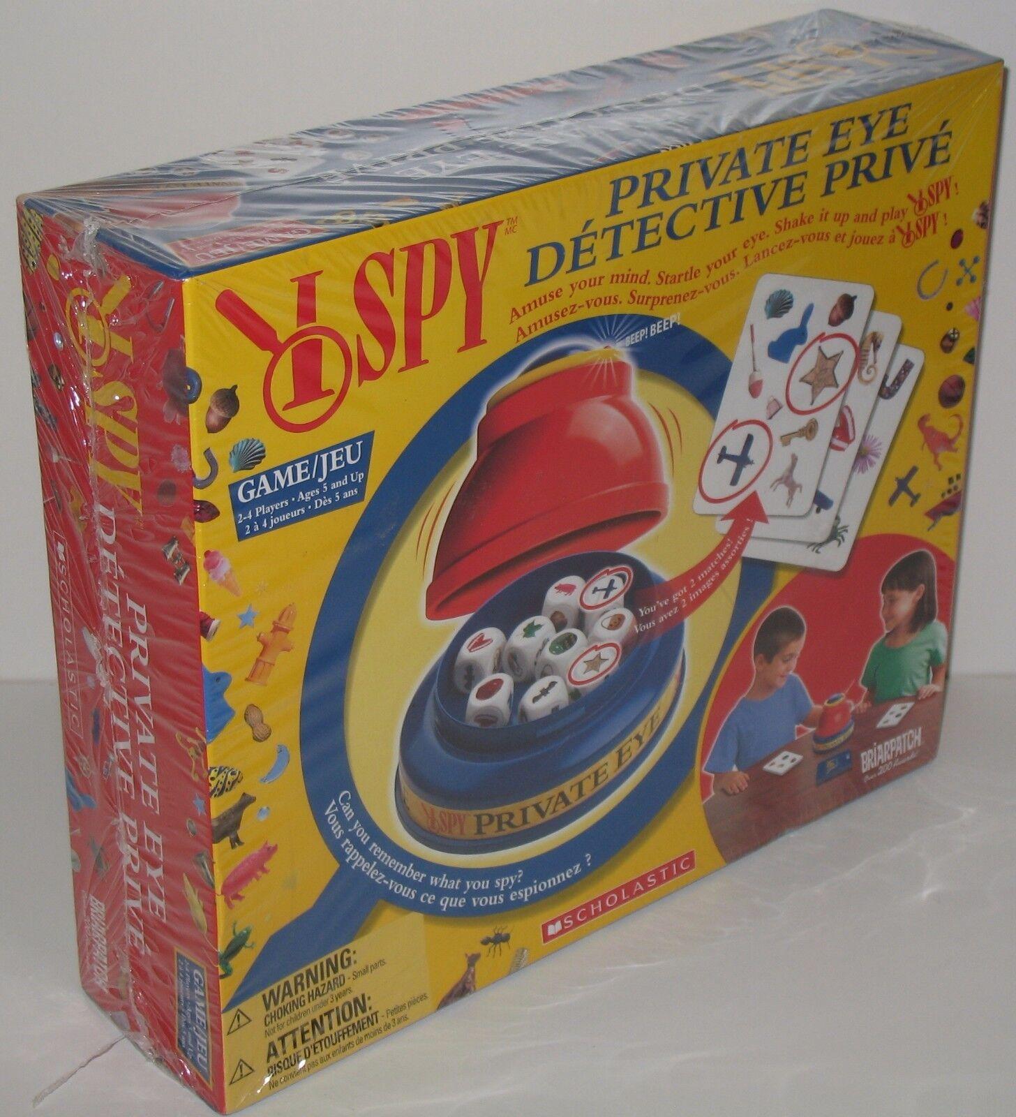 I Spy Private Eye gioco nuovo Sealed - WRAP  mostrareS WEAR  acquista marca