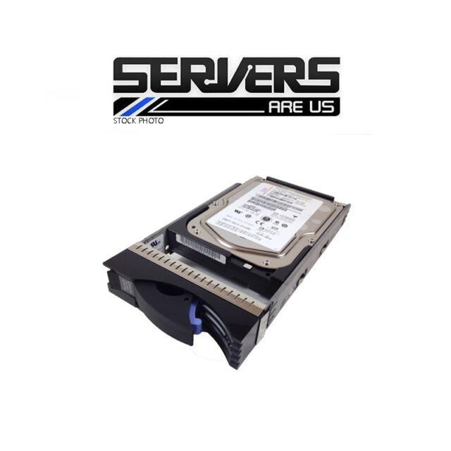 "IBM 73GB 3.5 "" Festplatte 40k6819 40k6816 15k 4gb FC 23r1771 Max3073fd"