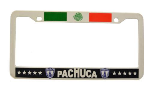 "/""Pachuca/"" Mexico Soccer Plastic License Plate Frame 2 piece"