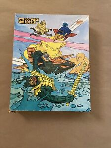 He-Man Masters of the Universe MOTU 200 Piece Puzzle 14x18 Golden 1985 Lot#2