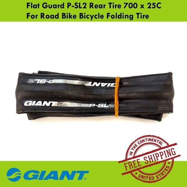 GIANT P-SL1 front /& Rear 700x25c road bicycle bike tyres bicycle road bike tyres