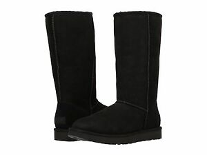 Women-039-s-Shoes-UGG-Classic-Tall-II-Boots-1016224-Black-5-6-7-8-9-10-11-New