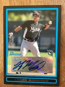 2009 Bowman Logan Morrison Auto Autograph Rookie Prospect