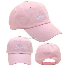 Melanie Martinez PINK CRYBABY Dad Cap Ballcap Baseball Hat Cry Baby Licensed NEW