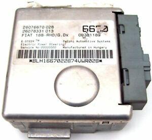 Fiat-Punto-Eps-Elektrische-Kraft-Lenksaeule-ECU-26076670028-26078331013-6670