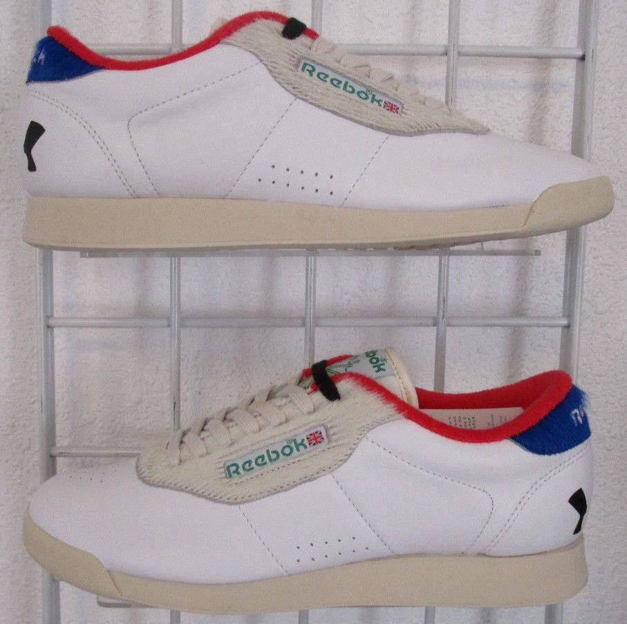 Women's Reebok Princess Sneakers, New White Melody Ehsani Dance Fitness Shoes 9