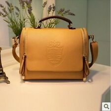 Bag of Korean Faux Leather Style Women's Messenger Shoulder (BROWN) Handbag