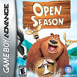 Open Season Nintendo Game Boy Advance 2006 For Sale Online Ebay
