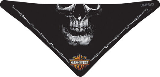 "Harley-Davidson Hals- + Gesichtstuch "" DEADLY JAW""  Facemask *BAC91030*"