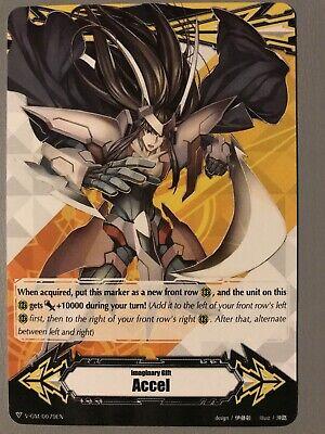Cardfight Vanguard Zanbaku Accel Gift Marker