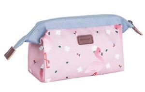 e1551a7acf0e Image is loading Small-toiletry-bag-kit-makeup-compact-foldable-style-