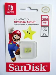 New-256GB-Nintendo-Switch-Memory-Card-micro-sd-SDXC-SanDisk-Authentic-SHIPS-FREE