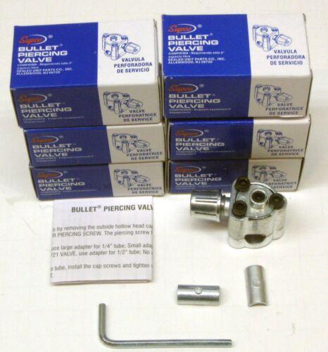 BPV31- 6 X Paquet Supco Perçage de la Balle Valve pour 0.6cm 0.8cm & 1cm Tubage