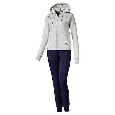 Puma Damen Klassisch HD Sweat Anzug CL Trainingsanzug