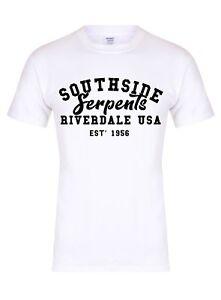 9dde9607 Image is loading Southside-Serpents-Unisex-T-Shirt-Riverdale-Betty-Archie-