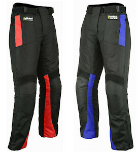 Motorbike-Motorcycle-Trousers-Cordura-Textile-Waterproof-Pants-All-Sizes-Weather