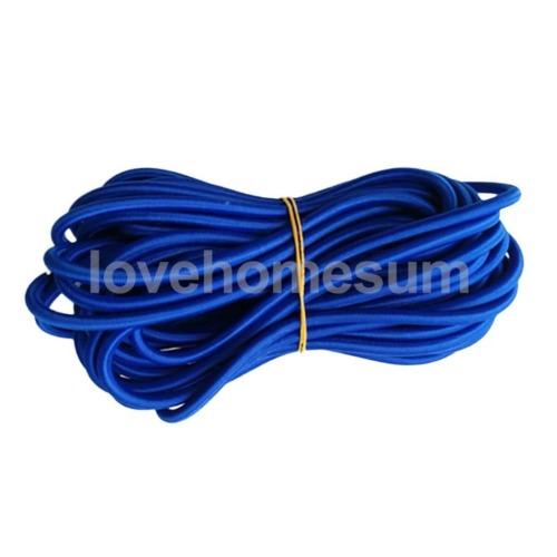 Expanderseil Spannseil Planenseil Gummiseil Gummileine Gummi Schnur 5m blau