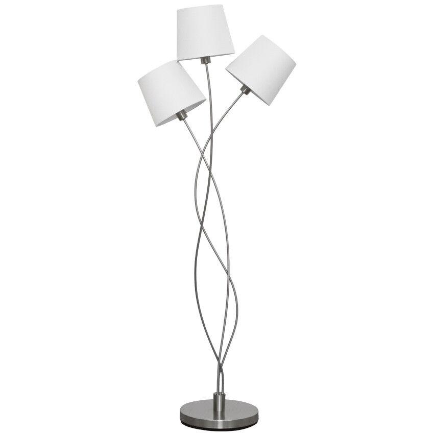 Lámpara stand pie lima lámpara lima pie 3 quemadores stoffschirme 3x max.40w Nino luminarias 07799d