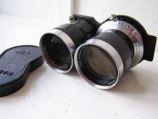 Mamiya Sekor 135mm Lens Mamiyaflex Film Camera
