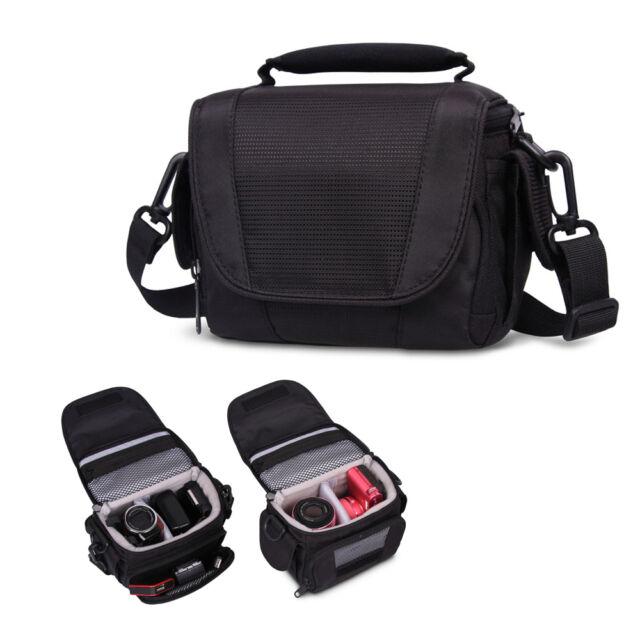 Shoulder Messenger Cross Body Carry Bag Case For Panasonic Camera Camcorder