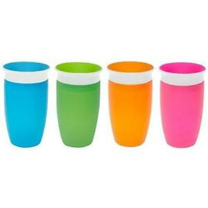 Munchkin Miracle 360 Sippy Cup Green//Blue 10 Ounce 2 Count