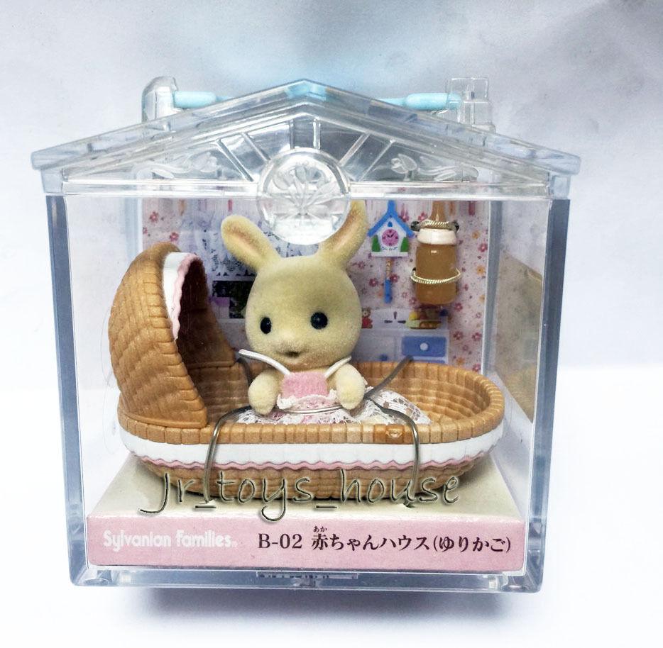artículos de promoción JP Sylvanian Families Crema Bebé Bebé Bebé Conejo juego raro duro encontrar  encuentra tu favorito aquí