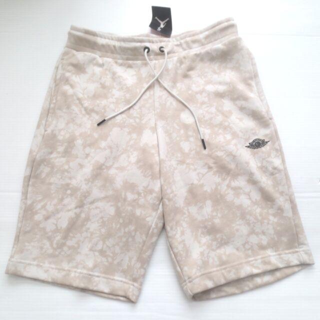 e4069a8a065 Mens Air Jordan Fadeaway Shorts AQ8024-072 Light Bone Brand New Size ...