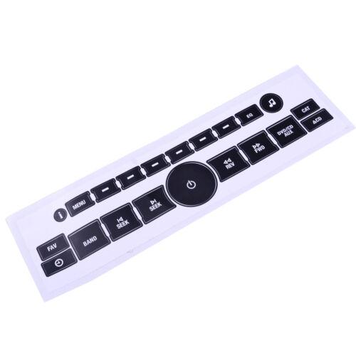 52Pcs//Set Radio /& AC Dash Control Button Sticker Repair Decal for GM Chevrolet