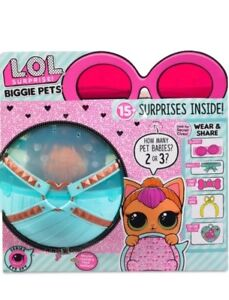 Lol Surprise Biggie Pet Neon Kitty Ultra Rare Eye Spy Ball Doll 2 4