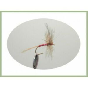 Choice of sizes Fishing Flies 6 Per Pack Trout Flies Greenwell Glory Nymphs