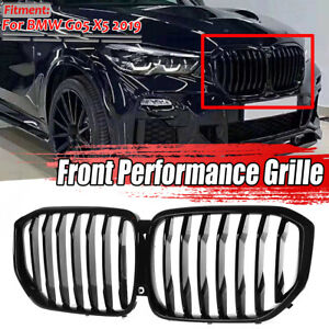k hlergrill nieren grill frontgrill glanz schwarz ersatz f r bmw g05 x5 2019 ebay. Black Bedroom Furniture Sets. Home Design Ideas