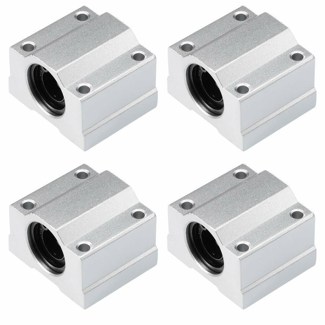 4X SC8UU SCS8UU 8mm Linear Ball Bearing Linear Motion Bearing Slide For CNC M22