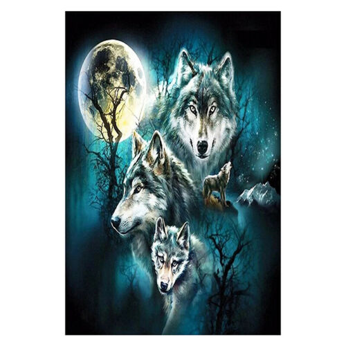 Full Drill 5D Diamond Painting Crafts Stitch Home Decor DIY Xmas Christmas Gifts