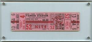 1953-MLB-Baseball-Ticket-New-York-Yankees-WON-15-1-Tigers-Mickey-Mantle-Double