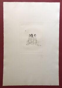Jonas-Hafner-i-tre-grazien-acquaforte-1973-a-mano-firmata-e-datata