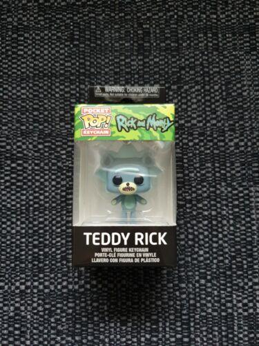 Scellé Funko Pocket POP Ricky et Morty Teddy Rick Key Chain Neuf