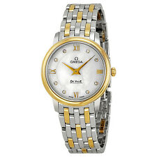 Omega Ladies De Ville Prestige MOP Quartz Swiss Made Watch 424.20.27.60.55.001