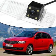 4 LED CCD Rearview Camera Reverse Parking Backup for Skoda Rapid Spaceback 13-16