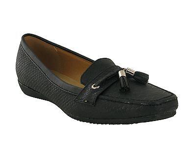 Damas Nuevo Cuña comodidad suave acolchado Borla Bombas Zapatos Casuales UK Size 8-11