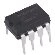 10PCS National Semiconductor LM4562NA LM4562 4562 Dual OpAmp DIP-8 - New IC