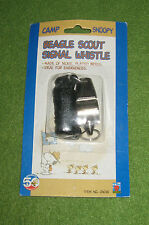 The Beagle Scout Signal Whistle - Camp Snoopy Peanuts Nickel Plated Brass NEW