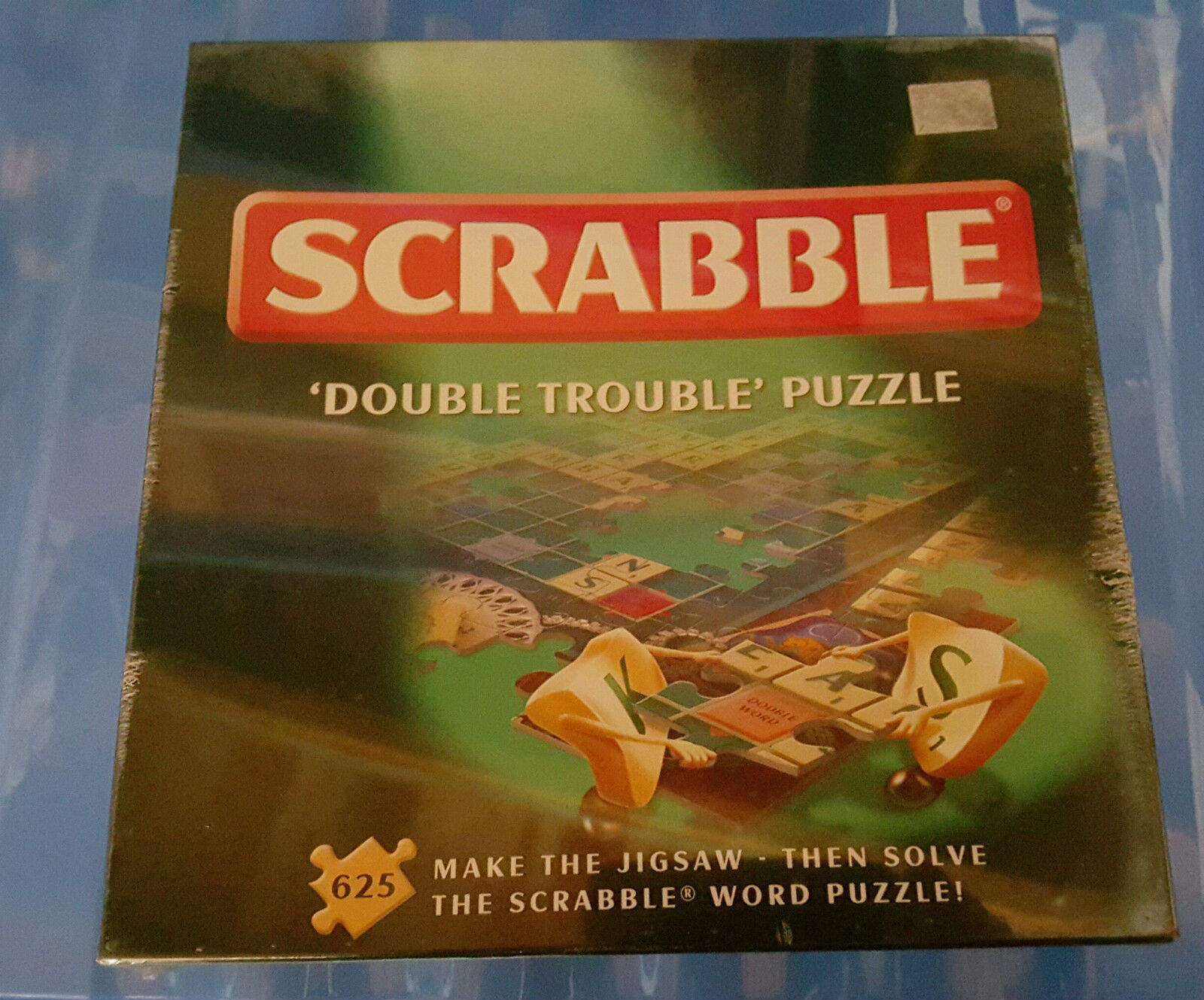 Poudrière jeux scrabble  double trouble  puzzle ' 625 piece jigsaw scellé