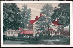 OLNEY-MD-Inn-Restaurant-Vintage-Lumitone-Postcard