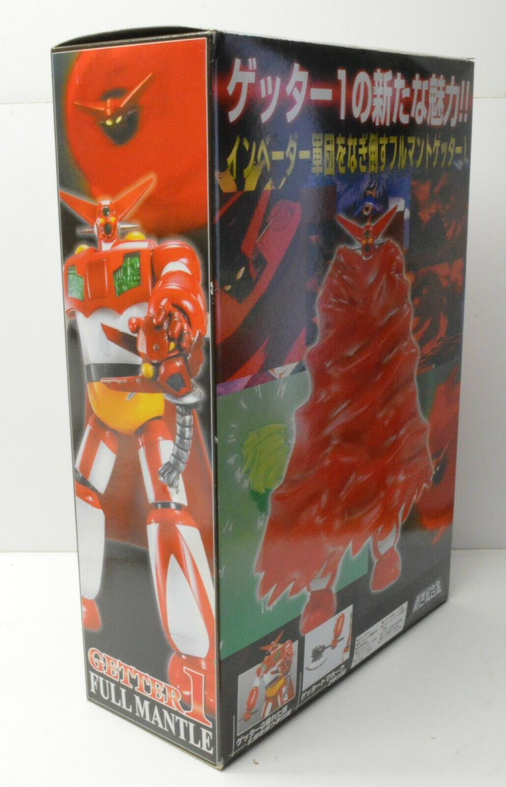 SHIN SHIN SHIN GETTER 1 Full Mantle Miracle House SF-18 Aoshima Getter Robo 424c37