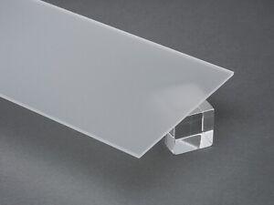 Acrylic Clear Frosted Plexiglass 1 8 X 24 X 48 Plastic Sheet P95 201411100000 Ebay