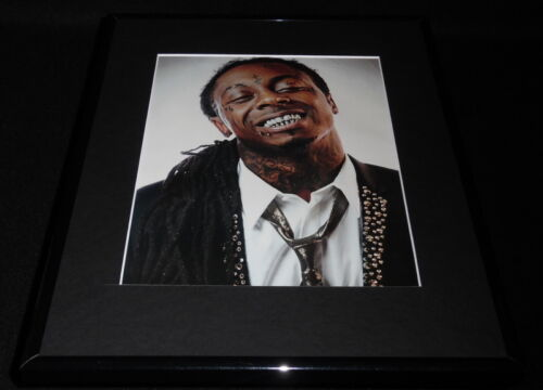 Lil Wayne 2011 Smiling Framed 11x14 Photo Display