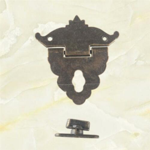 Small Box Buckle Clasp Antique Buckle Alloy Buckle Box Wooden Wine Box Lock Q