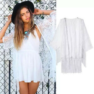 Ivory-Lace-Kimono-with-tassel-trim-Festival-Beach-Cover-up-Ibiza-Marbs