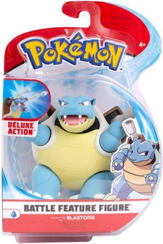 """Pokemon Battle Feature Series Blastoise Action Figure Toy 4 1//2/"""" NEW Fast Ship"""